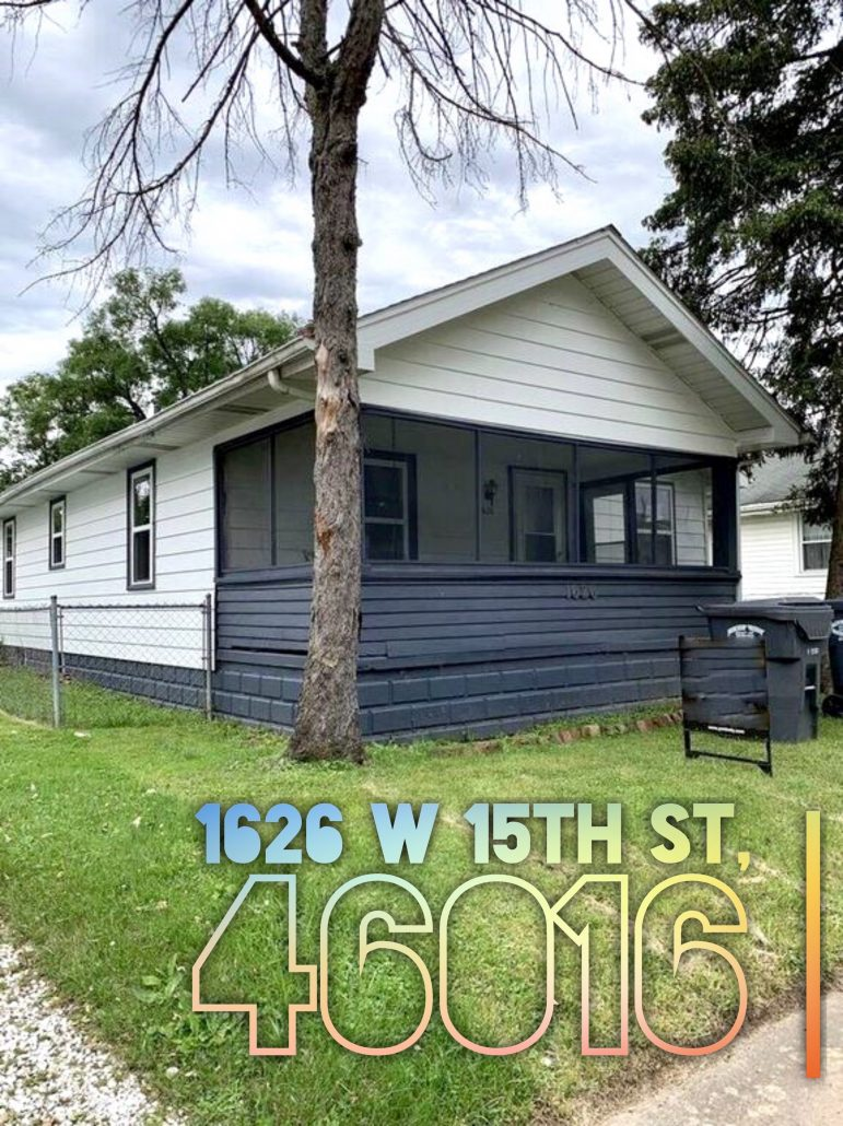 1626 W 15th St Anderson, IN 46016